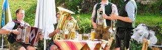 Biere aus Deutschland - Beer garden