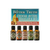 The Bitter Truth - Traveller's Set 5x 20ml Bottles
