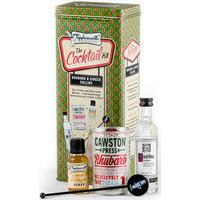 Tipplesworth - Rhubarb & Ginger Collins - Cocktail Kit Gift Set