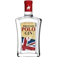 British Polo Gin - No.3 Botanical 70cl Bottle