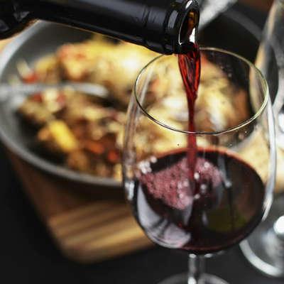 Kroatischer Rotwein