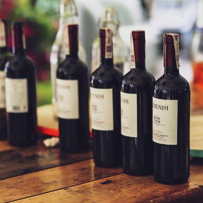 Griechischer Rotwein