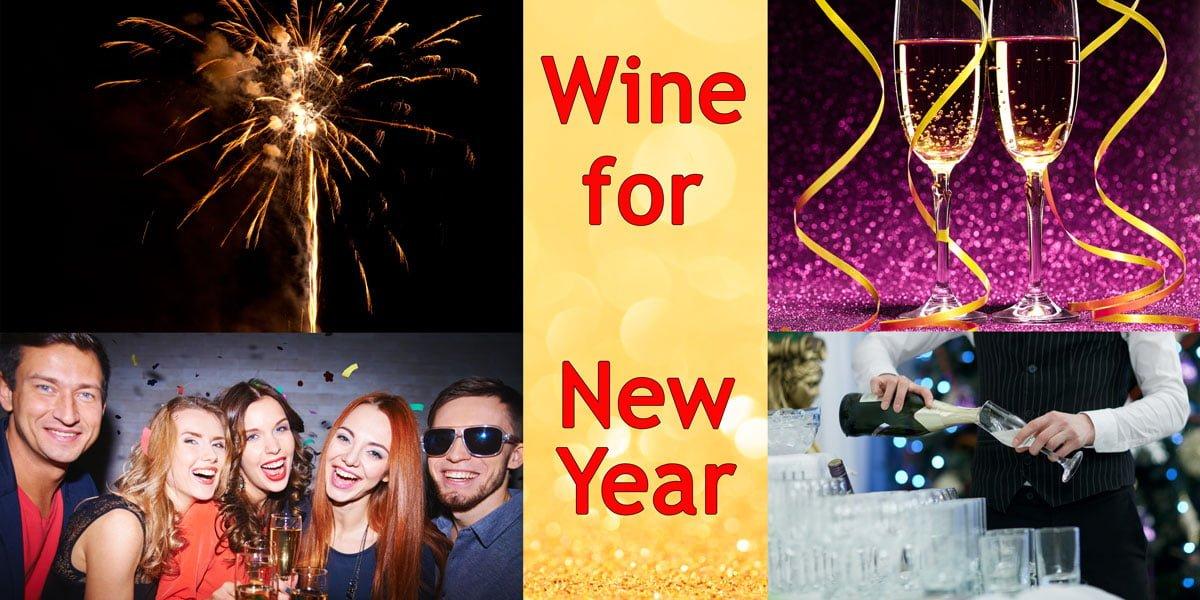 Weine für Neue Jahr